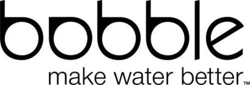 BOBBLE MAKE WATER BETTER