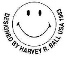 DESIGNED BY HARVEY R. BALL USA 1963