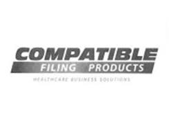 COMPATIBLE FILING PRODUCTS HEALTHCARE BUSINESS SOLUTIONS