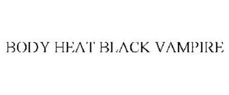 BODY HEAT BLACK VAMPIRE