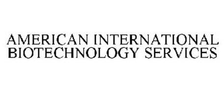 AMERICAN INTERNATIONAL BIOTECHNOLOGY SERVICES
