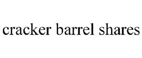 CRACKER BARREL SHARES