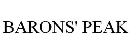 BARONS' PEAK