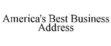 AMERICA'S BEST BUSINESS ADDRESS