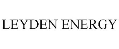 LEYDEN ENERGY