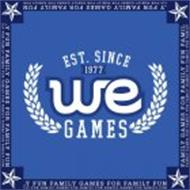 WE GAMES EST. SINCE 1977 FAMILY GAMES FOR FAMILY FUN