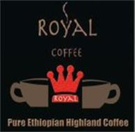 ROYAL COFFEE ROYAL PURE ETHIOPIAN HIGHLAND COFFEE