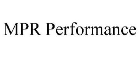 MPR PERFORMANCE