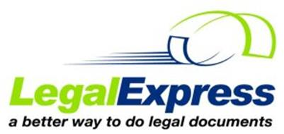 LEGALEXPRESS A BETTER WAY TO DO LEGAL DOCUMENTS