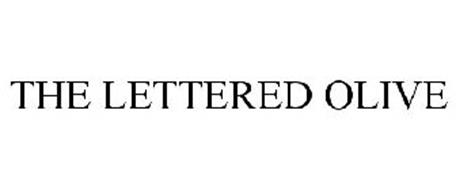 THE LETTERED OLIVE
