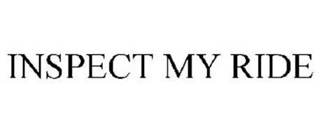 INSPECT MY RIDE