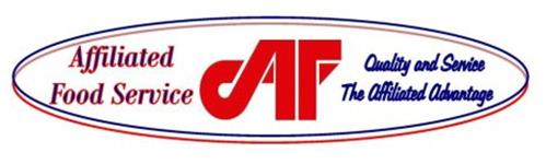 AFFILIATED FOOD SERVICE AF QUALITY AND SERVICE THE AFFILIATED ADVANTAGE