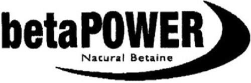 BETAPOWER NATURAL BETAINE