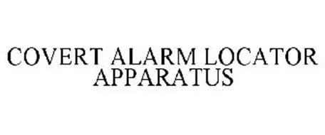 COVERT ALARM LOCATOR APPARATUS