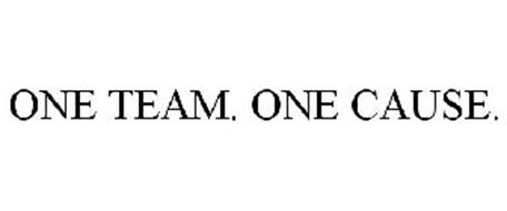 ONE TEAM. ONE CAUSE.