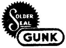 SOLDER SEAL GUNK