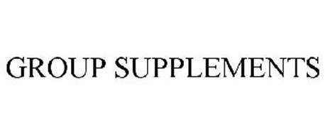 GROUP SUPPLEMENTS
