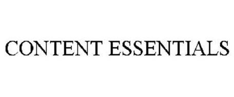 CONTENT ESSENTIALS