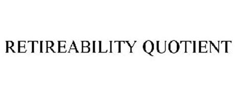 RETIREABILITY QUOTIENT