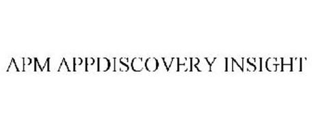 APM APPDISCOVERY INSIGHT