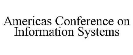 AMERICAS CONFERENCE ON INFORMATION SYSTEMS