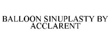 BALLOON SINUPLASTY BY ACCLARENT