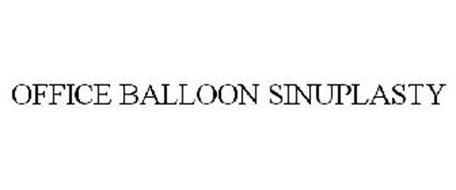 OFFICE BALLOON SINUPLASTY