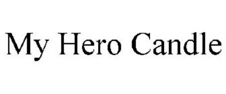 MY HERO CANDLE