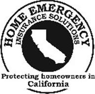HOME EMERGENCY INSURANCE SOLUTIONS PROTECTING HOMEOWNERS IN CALIFORNIA
