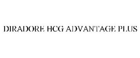 DIRADORE HCG ADVANTAGE PLUS