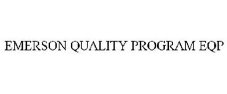 EMERSON QUALITY PROGRAM EQP