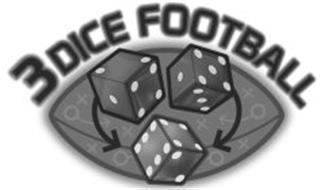 3 DICE FOOTBALL