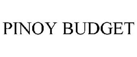 PINOY BUDGET