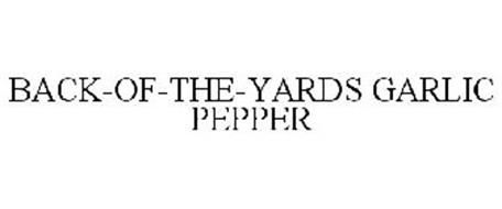 BACK-OF-THE-YARDS GARLIC PEPPER