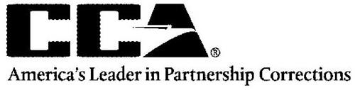 CCA AMERICA'S LEADER IN PARTNERSHIP CORRECTIONS