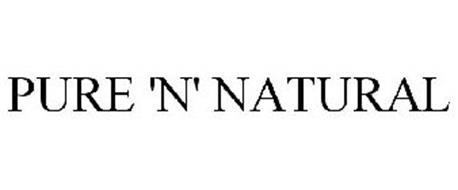 PURE 'N' NATURAL