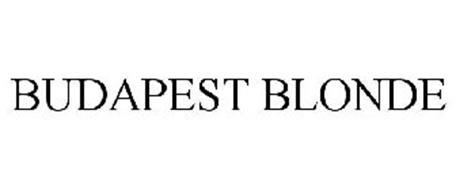 BUDAPEST BLONDE