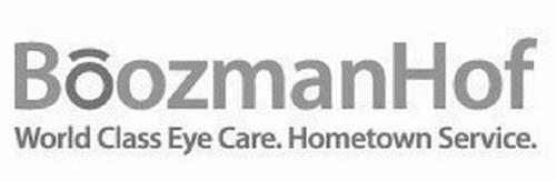 BOOZMANHOF WORLD CLASS EYE CARE HOMETOWN SERVICE