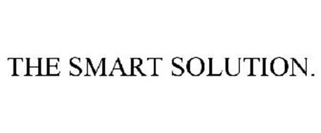 THE SMART SOLUTION.