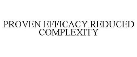 PROVEN EFFICACY.REDUCED COMPLEXITY