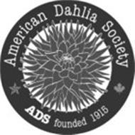AMERICAN DAHLIA SOCIETY ADS FOUNDED 1915