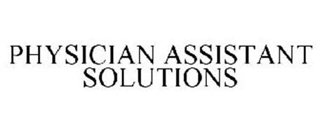 PHYSICIAN ASSISTANT SOLUTIONS