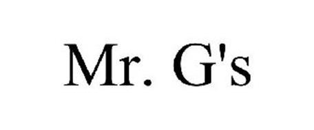 MR. G'S