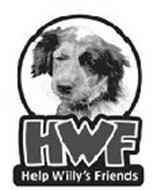 HWF HELP WILLY'S FRIENDS