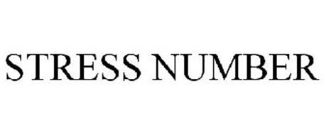 STRESS NUMBER