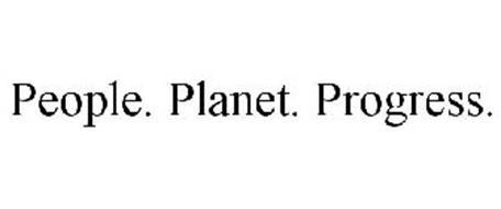 PEOPLE. PLANET. PROGRESS.