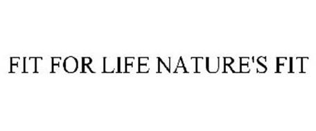 FIT FOR LIFE NATURE'S FIT