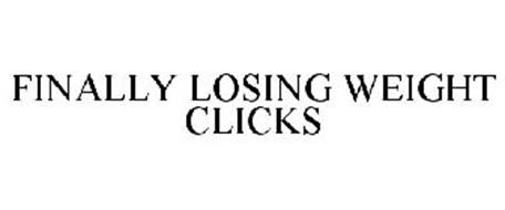 FINALLY LOSING WEIGHT CLICKS