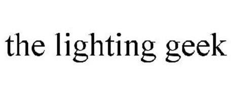 THE LIGHTING GEEK
