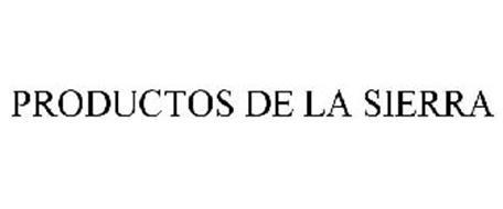 PRODUCTOS DE LA SIERRA